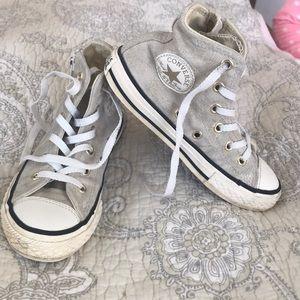 Converse All Star high tops glitter